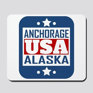 Anchorage Alaska USA Mousepad