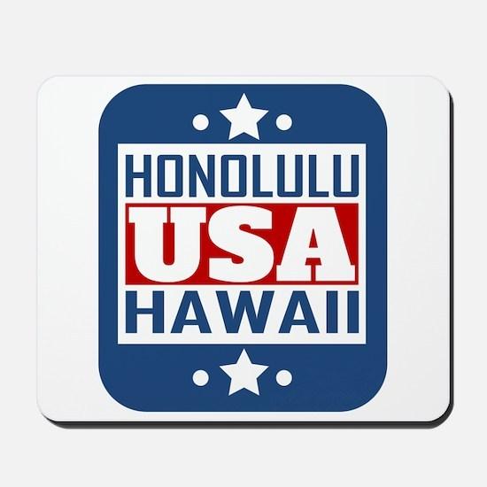 Honolulu Hawaii USA Mousepad