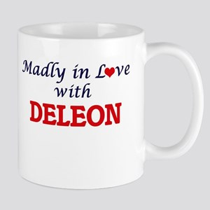 Madly in love with Deleon Mugs