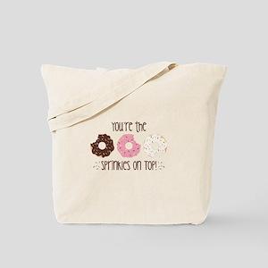 Sprinkles On Top Tote Bag