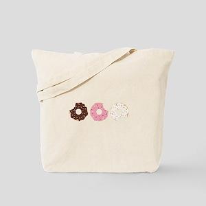 Donut Border Tote Bag
