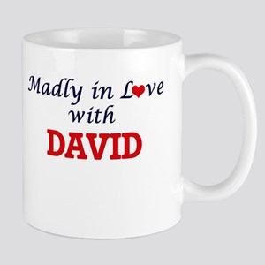 Madly in love with David Mugs