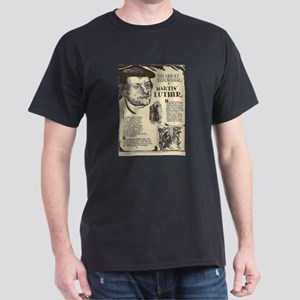 Martin Luther Mini Biography T-Shirt