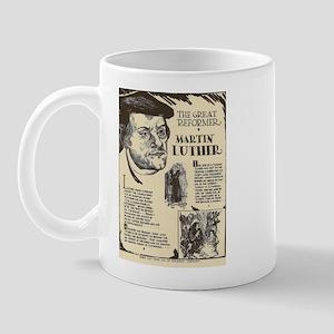 Martin Luther Mini Biography Mugs