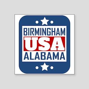 Birmingham Alabama USA Sticker