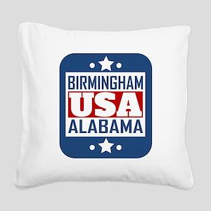 Birmingham Alabama USA Square Canvas Pillow