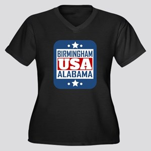 Birmingham Alabama USA Plus Size T-Shirt