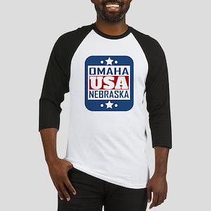 Omaha Nebraska USA Baseball Jersey