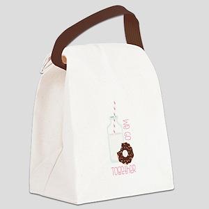 We Go Together Canvas Lunch Bag