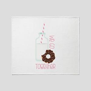 We Go Together Throw Blanket