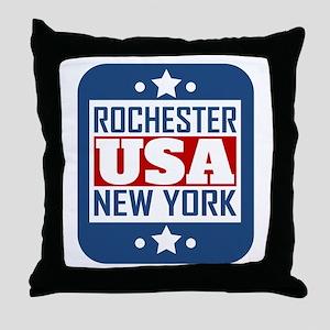 Rochester New York USA Throw Pillow