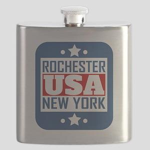 Rochester New York USA Flask
