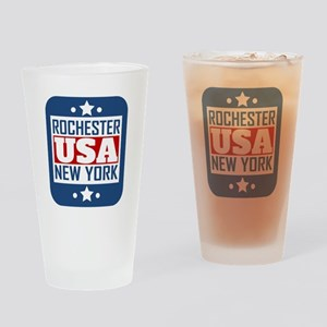 Rochester New York USA Drinking Glass