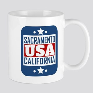 Sacramento California USA Mugs
