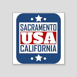 Sacramento California USA Sticker