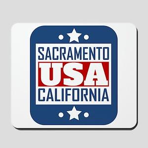 Sacramento California USA Mousepad