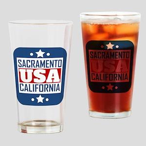 Sacramento California USA Drinking Glass