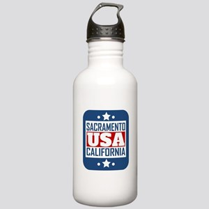 Sacramento California USA Water Bottle