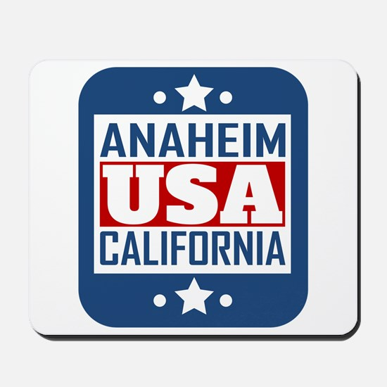 Anaheim California USA Mousepad