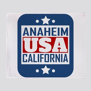 Anaheim California USA Throw Blanket