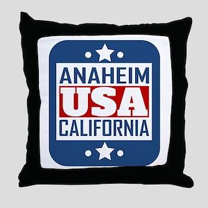 Anaheim California USA Throw Pillow