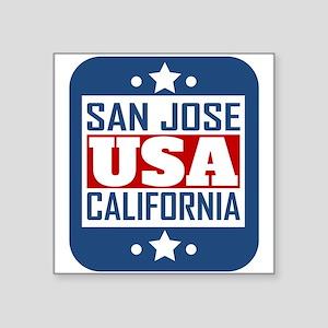 San Jose California USA Sticker