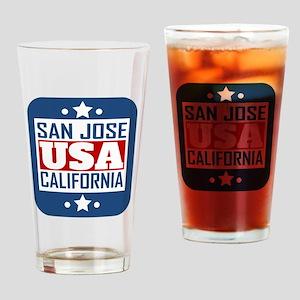 San Jose California USA Drinking Glass