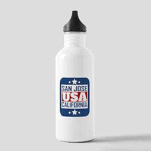 San Jose California USA Water Bottle