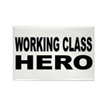Working Class Hero Rectangle Magnet (10 pack)