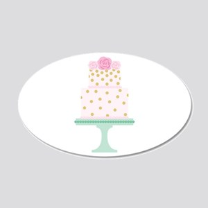 Pink Cake Wall Decal