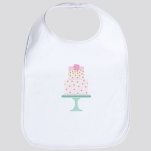 Pink Cake Bib