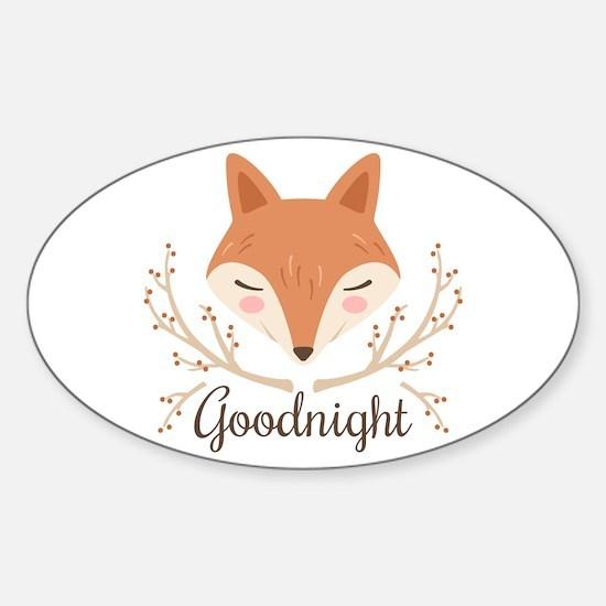 Goodnight Fox Decal