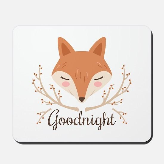 Goodnight Fox Mousepad