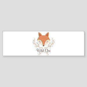 Wild One Bumper Sticker