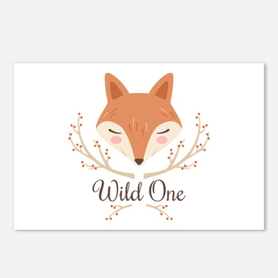 Wild One Postcards (Package of 8)