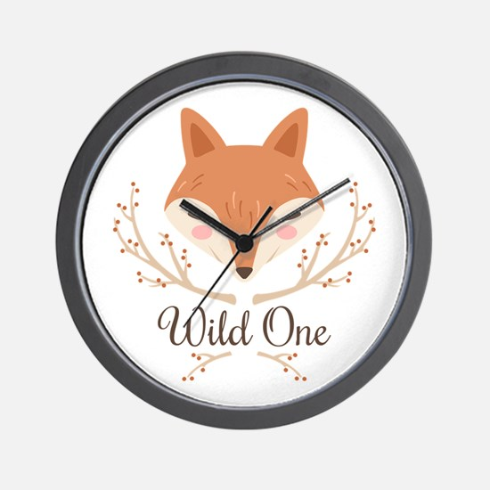 Wild One Wall Clock