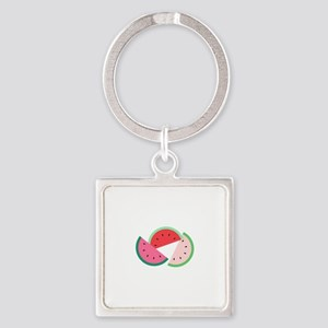 Watermelon Slices Keychains