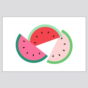 Watermelon Slices Posters