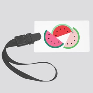 Watermelon Slices Luggage Tag