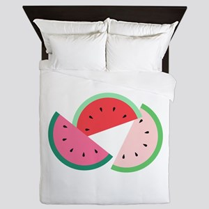 Watermelon Slices Queen Duvet