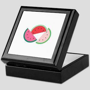 Watermelon Slices Keepsake Box