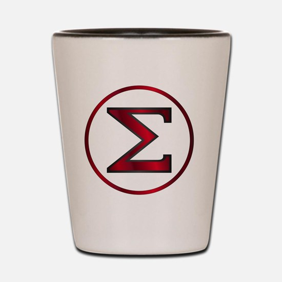 Cute Greek letters Shot Glass