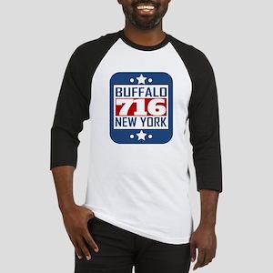716 Buffalo NY Area Code Baseball Jersey