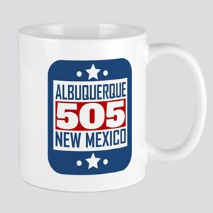 505 Albuquerque NM Area Code Mugs