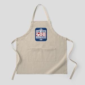 408 San Jose CA Area Code Apron