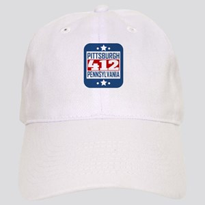 52471430 412 Pittsburgh PA Area Code Baseball Cap