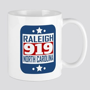 919 Raleigh NC Area Code Mugs