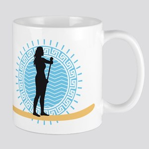 stand up paddling Mugs