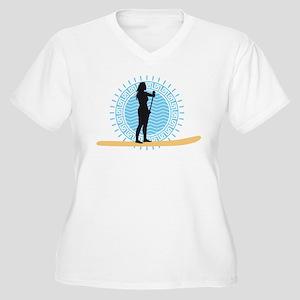 stand up paddling Plus Size T-Shirt