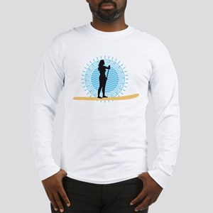 stand up paddling Long Sleeve T-Shirt